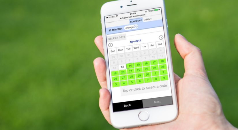 Online Bookings at The Dog Walking Field